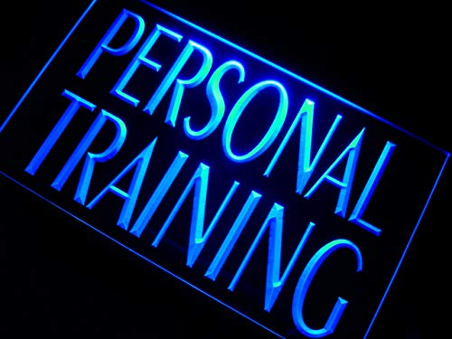 """ADVPRO Personal Training Gym Trainer LED Neon Sign Blue 24"""" x 16"""" st4s64-m111-b"""