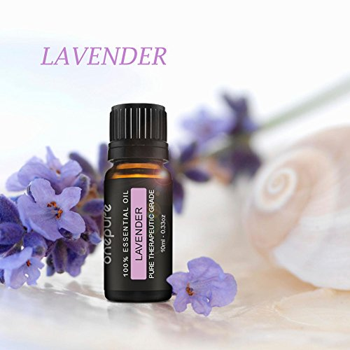 Onepure-Aromatherapy-Essential-Oils-Gift-Set-6-Bottles-10ml-each-100-Pure-Lavender-Tea-Tree-Eucalyptus-Lemongrass-Sweet-Orange-Peppermint