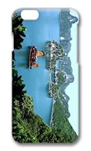 MOKSHOP Adorable halong bay vietnam Hard Case Protective Shell Cell Phone Cover For Apple Iphone 6 Plus (5.5 Inch) - PC 3D