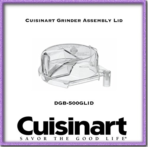 Cuisinart DGB-500GLID Grinder Assembly Lid, Clear