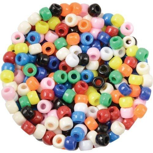 Creativity Street Pony Beads, Plastic, 6