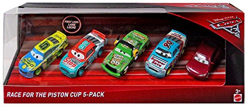 Disney Cars Piston Cup (Disney/Pixar Cars 3 Race for the Piston Cup 5-Pack)