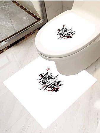 Awe Inspiring Amazon Com Auraisehome Bathroom Toilet Seat Sticker Decal Machost Co Dining Chair Design Ideas Machostcouk