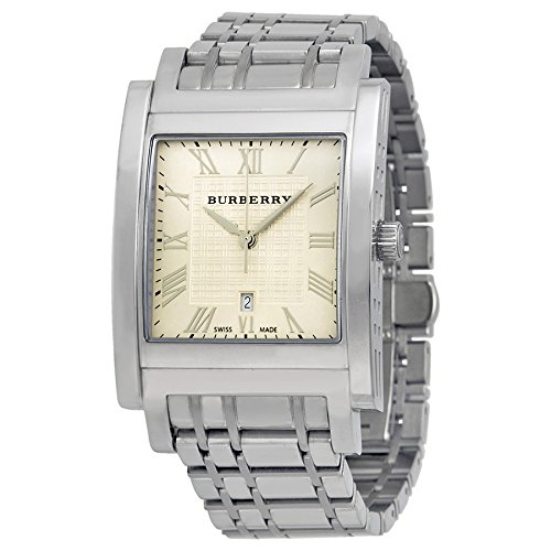 Burberry Heritage Light Gold Stainless Steel Mens Watch BU1550