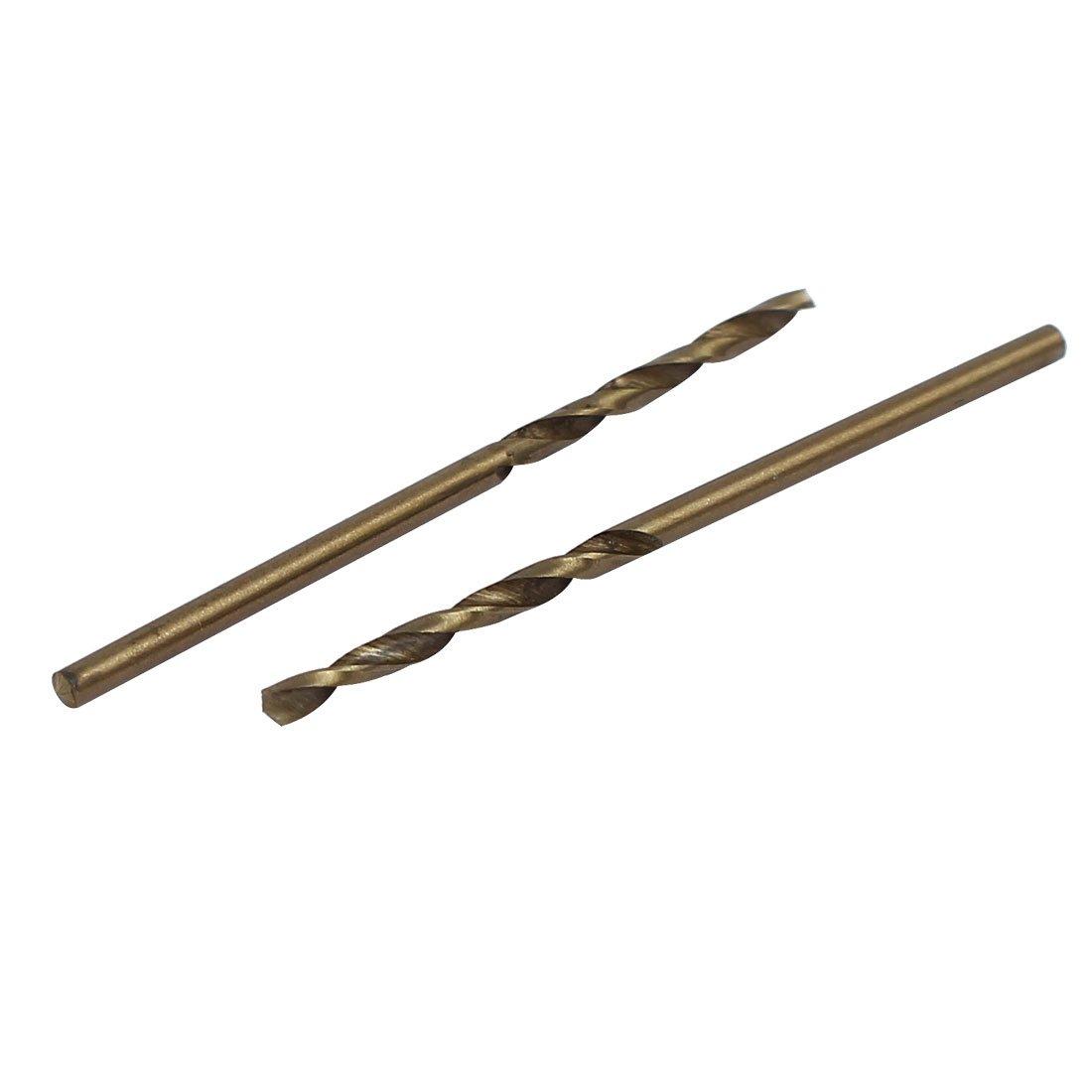 uxcell 1.7mm Dia Split Point HSS Cobalt Metric Twist Drill Bit Drilling Tool 10pcs