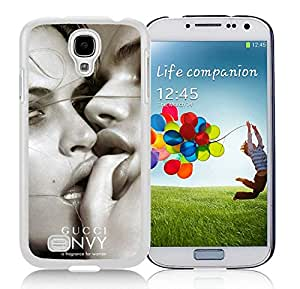 Fahionable Custom Designed Samsung Galaxy S4 I9500 i337 M919 i545 r970 l720 Cover Case With Gucci 28 White Phone Case