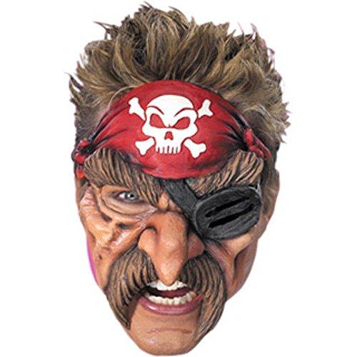 Pirate Chinless Vinyl Mask ()