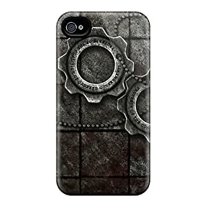 The-best-case Design High Quality Gears Of War Cover Case With Excellent Style For Iphone 4/4s