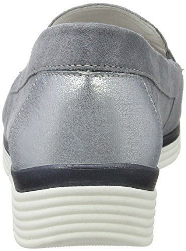 Gabor Damen Comfort Mokassin Blue (denim / Cloud 36)