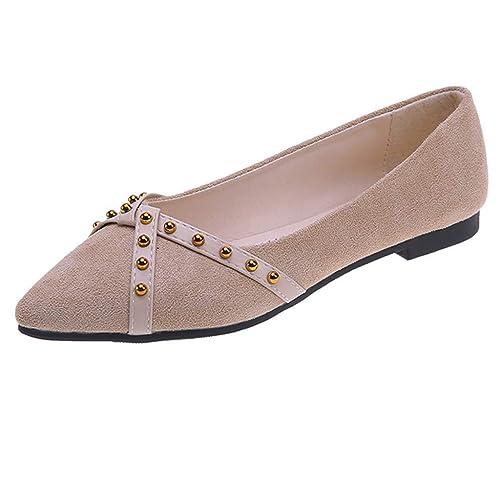 Mocasines Planos para Mujer, Zapatos Comodos Plataforma, Zapatillas Náuticos Adecuado para Oficina y Uso Diario: Amazon.es: Zapatos y complementos