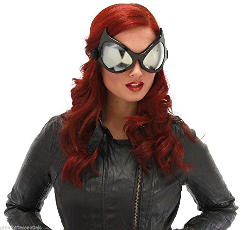 CAT EYE Goggles Costume Glasses Batman Catwoman Superhero Mask Halloween +eBook (Dramatic Cat Eye Halloween)