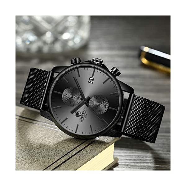 Stainless Steel Waterproof Chronograph Watches