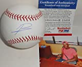 Jurickson Profar Texas Rangers Autographed Signed Baseball PSA DNA ROOKIE COA 1A