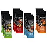 Legendary Foods Almond Snacks | 4 Flavors | Tangy Ranch, Cheddar Bacon, Buffalo Blue Wing, Wasabi Soy Sauce (Variety Pack, 1.5 oz (Pack of 12)