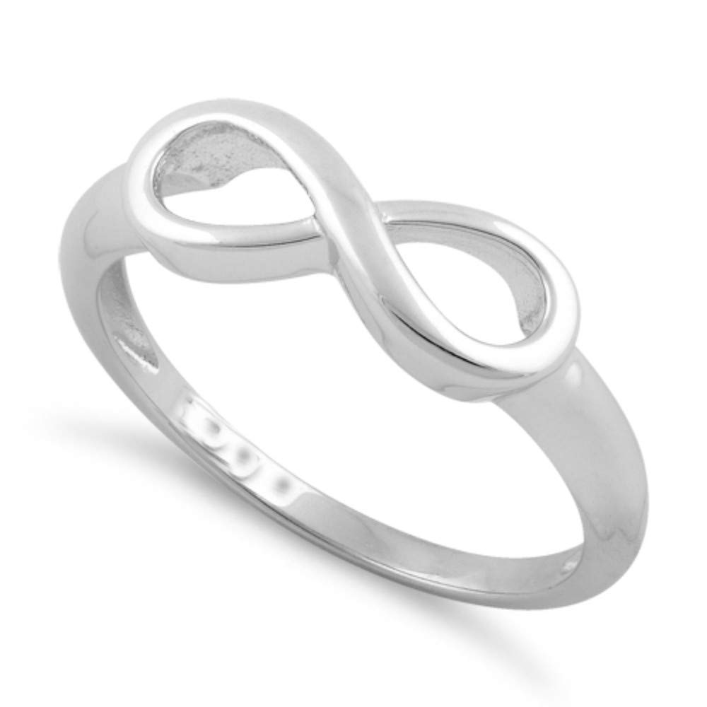 Nathis Infinity Ring Valentines Day by Sizzling Silver