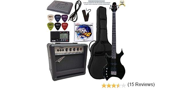 Pack Bajo eléctrico Amplificador 30 W 7 accesorios ~ 13 modelos ...