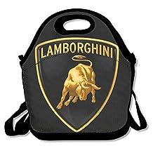 NaDeShop Lamborghini Logo Lunch Bag Tote