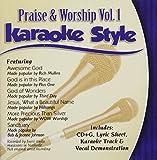 Music : Karaoke Style: Praise and Worship, Vol. 1