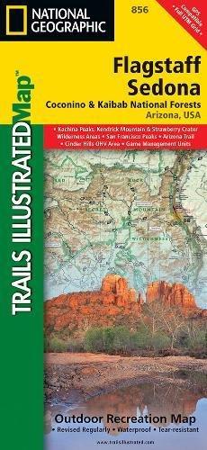 Flagstaff, Sedona [Coconino and Kaibab National Forests] (National Geographic Trails Illustrated - Trails Arizona Sedona