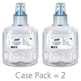 #10: PURELL Advanced Green Certified Hand Sanitizer Gel, 1200 mL Sanitizer Refill for PURELL LTX Touch-Free Dispenser (Pack of 2)- 1903-02