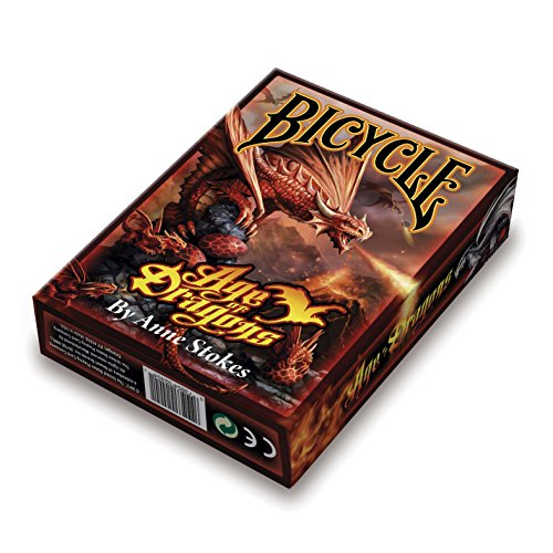 Bicycle Age of Dragons Anne Stokes Standard Poker Playing Cards