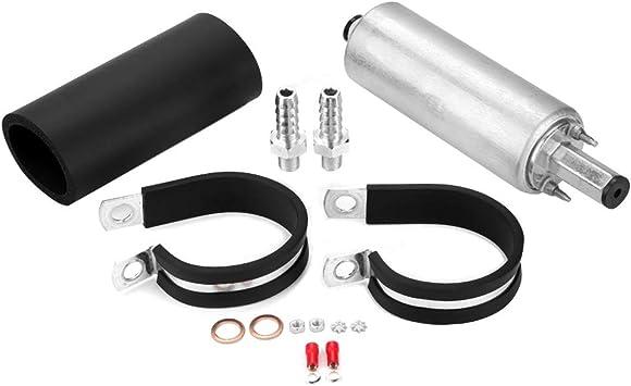 Kraftstoffpumpe Universal 255 Lph Inline Externe Hochdruck Kraftstoffpumpe Mit Kit Für Gsl392 Gsl392 Gcl611 2 Auto