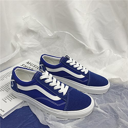 GUNAINDMXShoes/Shoes/Shoes/Shoes/All-Match/Spring/Autumn And Winter Royal Blue