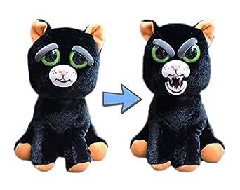 Feistys Pet Black Cat: Katy Cobweb Stuffed Attitude Plush Animal