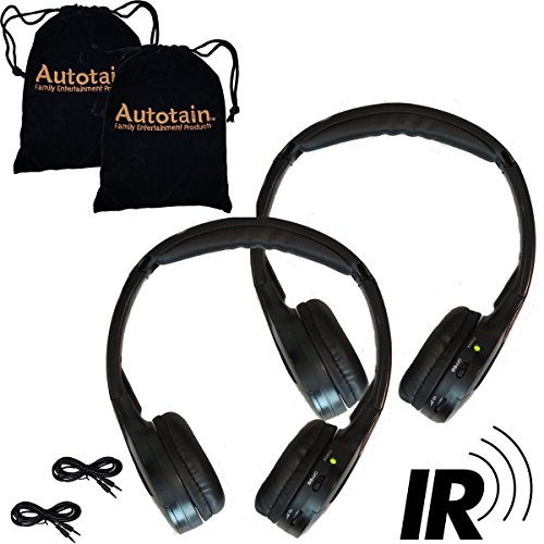 Autotain Universal Infrared Wireless Headphones