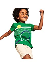 a67b00b5 Kid Boys Shirts Cool Cartoon Sport Ball Print Short Sleeve T-Shirt Tops Tee,
