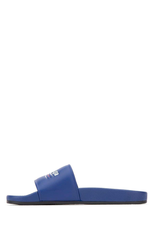 Balenciaga Herren Blau 530562WAM004045 Blau Herren Leder Sandalen - dc1b5b