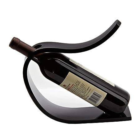 LERDBT Bastidores de Vino 1 Botellas de Vino del Soporte de ...