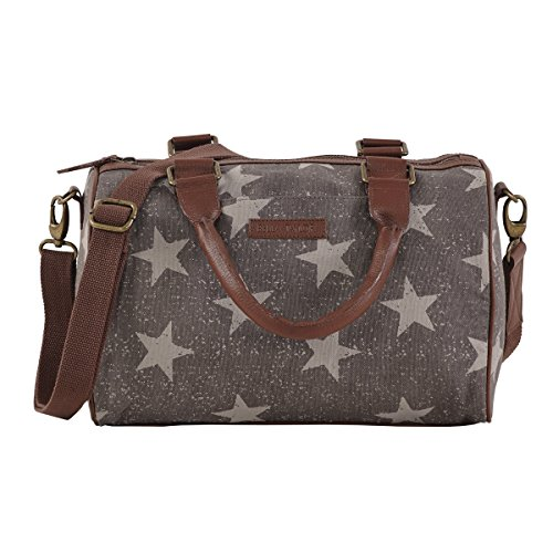 bella-taylor-vintage-star-grey-cotton-and-vegan-leather-satchel-with-arm-straps-and-adjustable-shoul