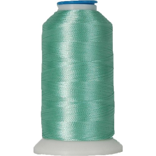 Polyester Machine Embroidery Thread By the Spool No. 208 - Sea Foam - 1000M - 200 Colors Available (Machine Color Seas)