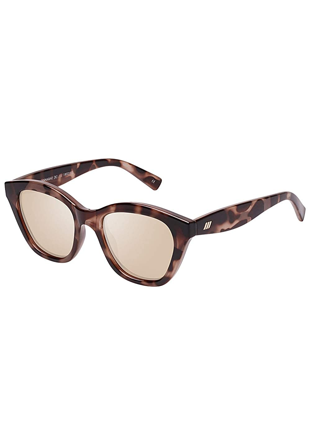 Le Specs Womens Wannabae Sunglasses Mist Tort One at Amazon ...
