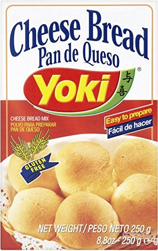 Cheese Bread Mix - Mistura para P?o de Queijo - Yoki - 8.80 oz (250g) - GLUTE.(Pack of 8)