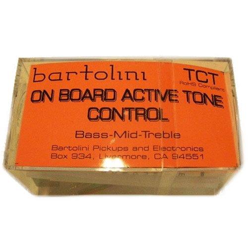 BARTOLINI TCT 3-band Tone Control Preamp w/300 Hz Mid Cut - Bartolini Bass Preamp