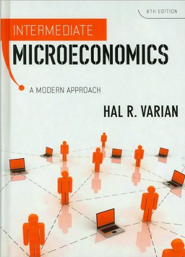 Download Intermediate Microeconomics (text only) 8th (Eighth) edition by H.R. Varian PDF