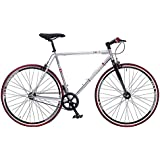 NEW EX DISPLAY REDEMPTION MENS FIXIE BIKE 700c WHEEL 56cm FRAME 55% OFF RRP