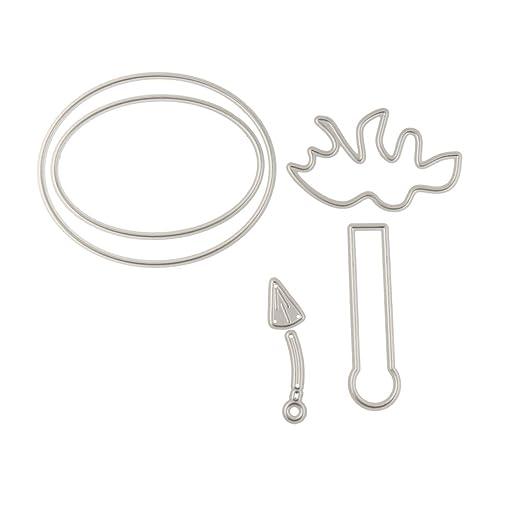 Baosity 1 Plantilla de Dibujo de Material Metal Suitable ...