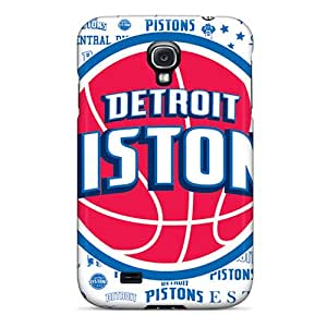 Galaxy S4 Cover Case - Eco-friendly Packaging(detroit Pistons)