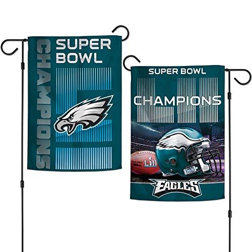 Philadelphia Eagles Super Bowl LII 52 Champions Garden Flag - 12