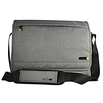 techair Grey EVO Magnetic Laptop Messenger Bag for 15 - 15.6 inch Laptops 223a891949