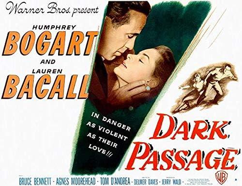 Amazon.com: Dark Passage - 1947 - Movie Poster: Posters & Prints