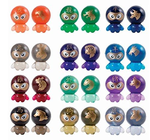 Bok Choy Boy Collectible Figures Series 4 (Zodiac Series)