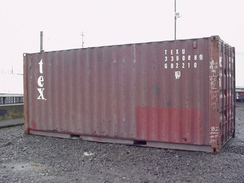 20ft Used Steel Storage Container