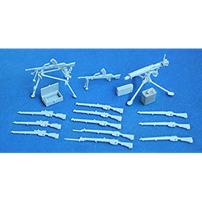 Riich Models WWII British Commonwealth Weapon Set B (1/35 Scale): Toys & Games