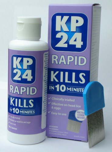 Buy Head Lice Nits Treatment 150ml Plus Metal Comb Kp24 Rapid