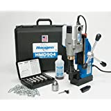 """Hougen HMD904 115-Volt Magnetic Drill w/coolant bottle plus 1/2"""" drill chuck, adapter and 12002 rotabroach cutter kit"""