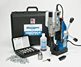 Cheap Hougen HMD904 115-Volt Magnetic Drill w/coolant bottle plus 1/2″ drill chuck, adapter and 12002 rotabroach cutter kit